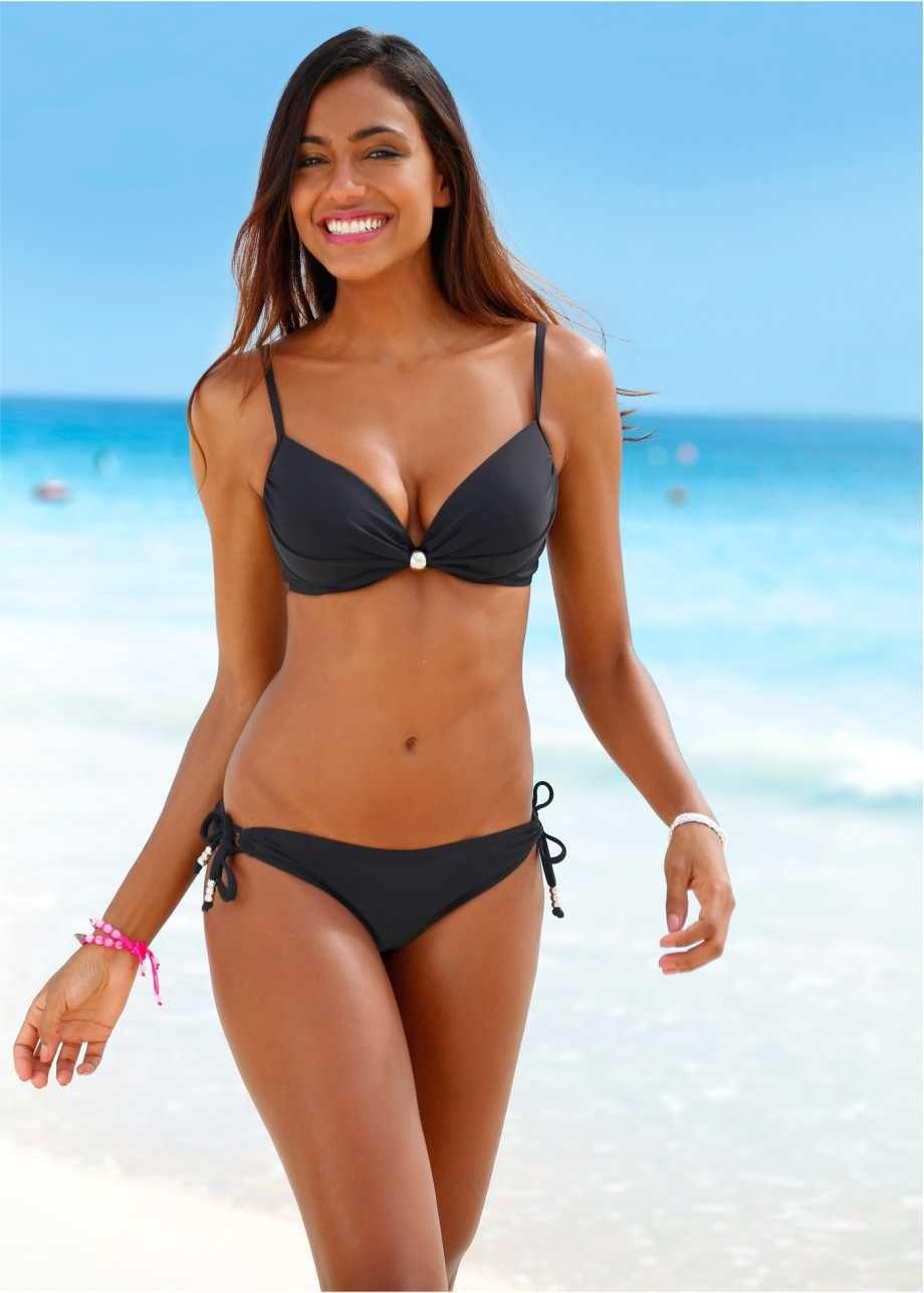 b gel bikini 2 tlg set bpc bonprix collection schwarz. Black Bedroom Furniture Sets. Home Design Ideas