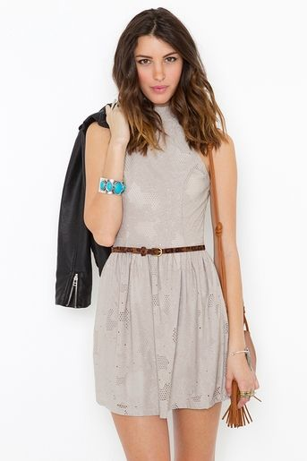 Hailee halter dress