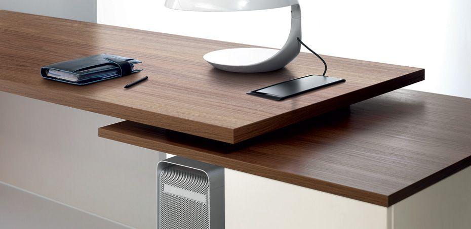 Awesome scrivania ufficio e arredamento studio lithos di for Portale arredo 3