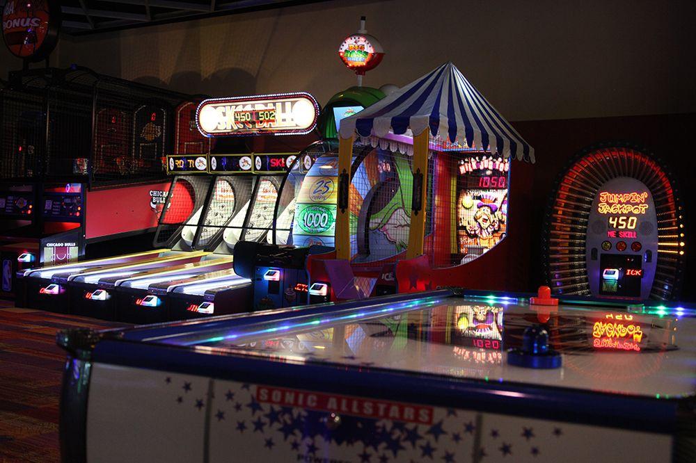 Arcade at Wind Creek Atmore Indoor activities for kids