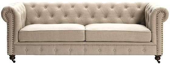Gordon Tufted Sofa Sofas Living Room Furniture Homedecorators Com