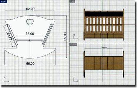 Costruire Una Culla A Dondolo.I Progetti Del Legno It Culla Di Abete Il Legno It Per