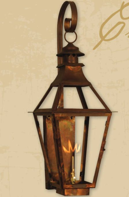 Copper Lantern Pendant Light