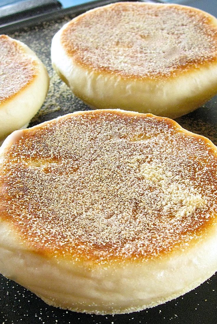 Sourdough English Muffins Recipe (from King Arthur Flour) - this is a great way to use up extra sourdough starter