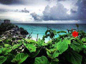"A Girl & Her GoPro: Day Trip: Tulum - ""Aspiring Beach Bums"""