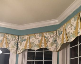 custom window valances. custom window treatment peyton hidden rod pocket valance fits window, made to order with your fabrics, my labor and lining valances d