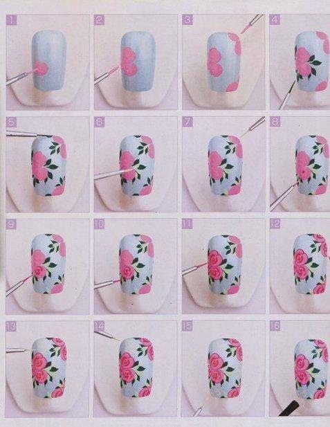 Nail Tutorial Step By Step Nail Art Tutorials Nagel Ideen