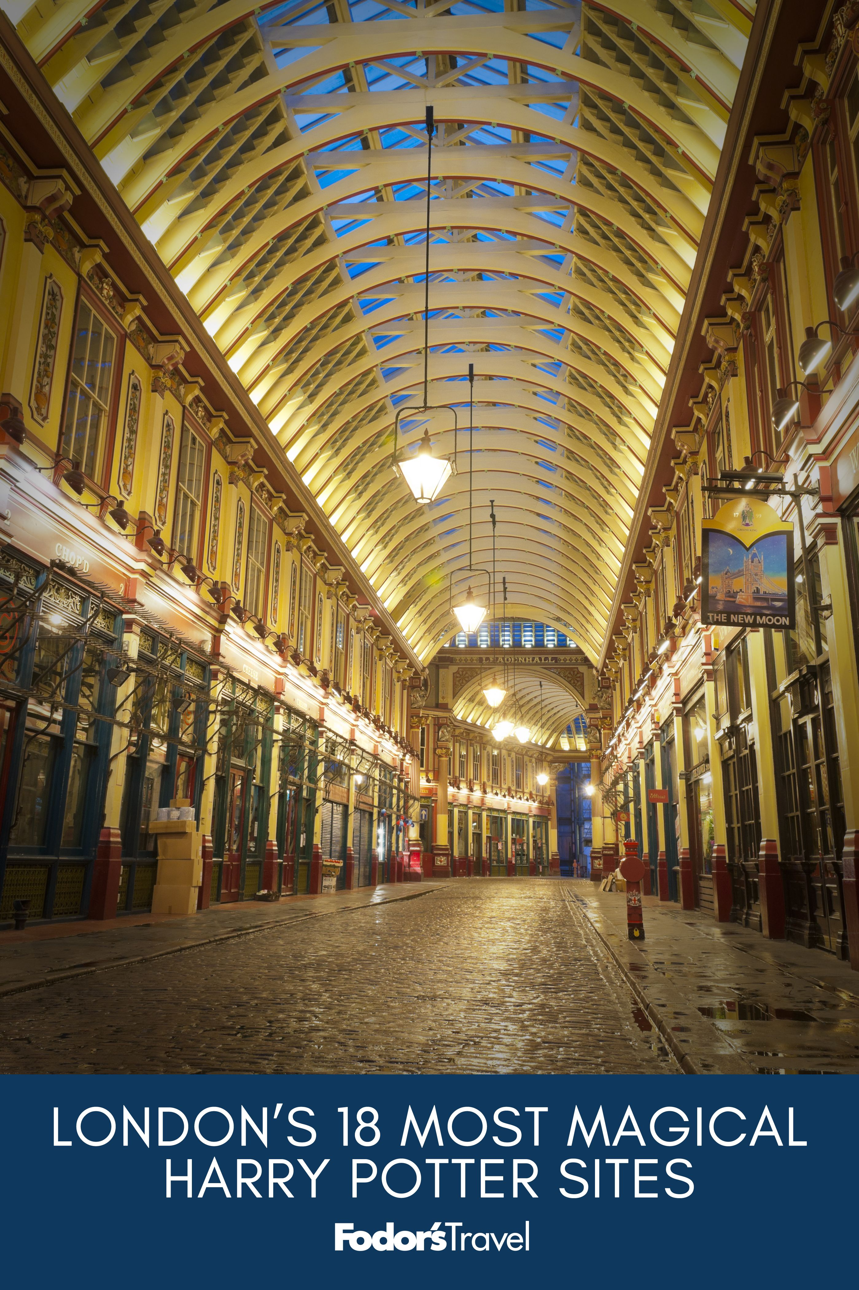 From the iconic Platform 9 ¾ to the lesser-known pedestrian streets, here are the top #HarryPotter sites in #London. #Travel