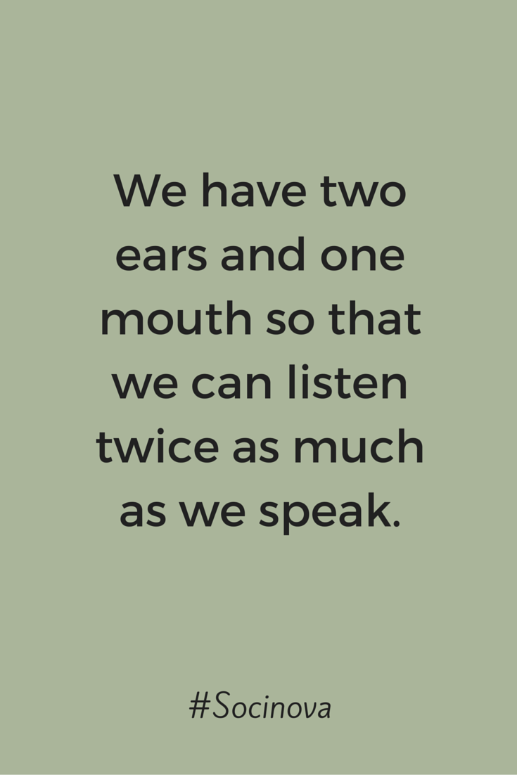 Talk Less And Listen More Listening Quotes Talk Too Much Quotes Talk Less Quotes