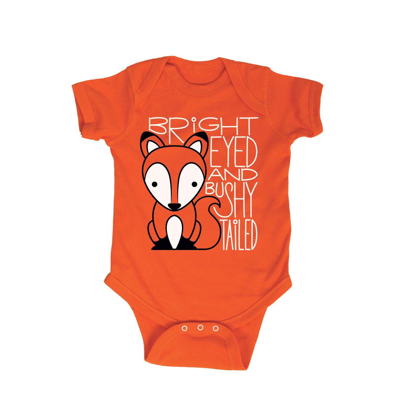 b4d524f81221 Bright Eyed Bushy Tailed Fox Infant Bodysuit