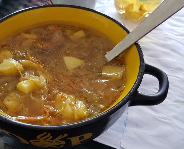 Nothing can get wrong with this German Ground Beef Cabbage Soup recipe. It is super easy and a great soup for all seasons. Authentic German recipe.