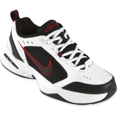 With Nike Air Monarch IV training shoes, you're good to go-no matter if  you're training for a mile run or a marathon. Save on these men's training  shoes.