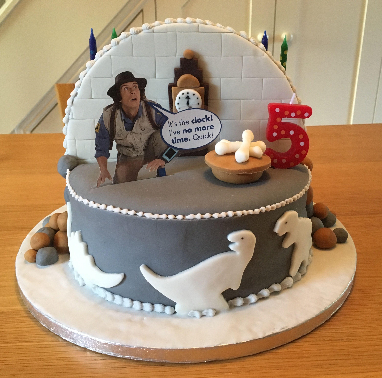Andys Dinosaur Adventures Birthday Cake