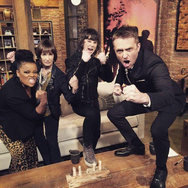 Lucifer Season 4 First Day: Great Job On Talking Dead Tonight Yvette, Gale & Chandler