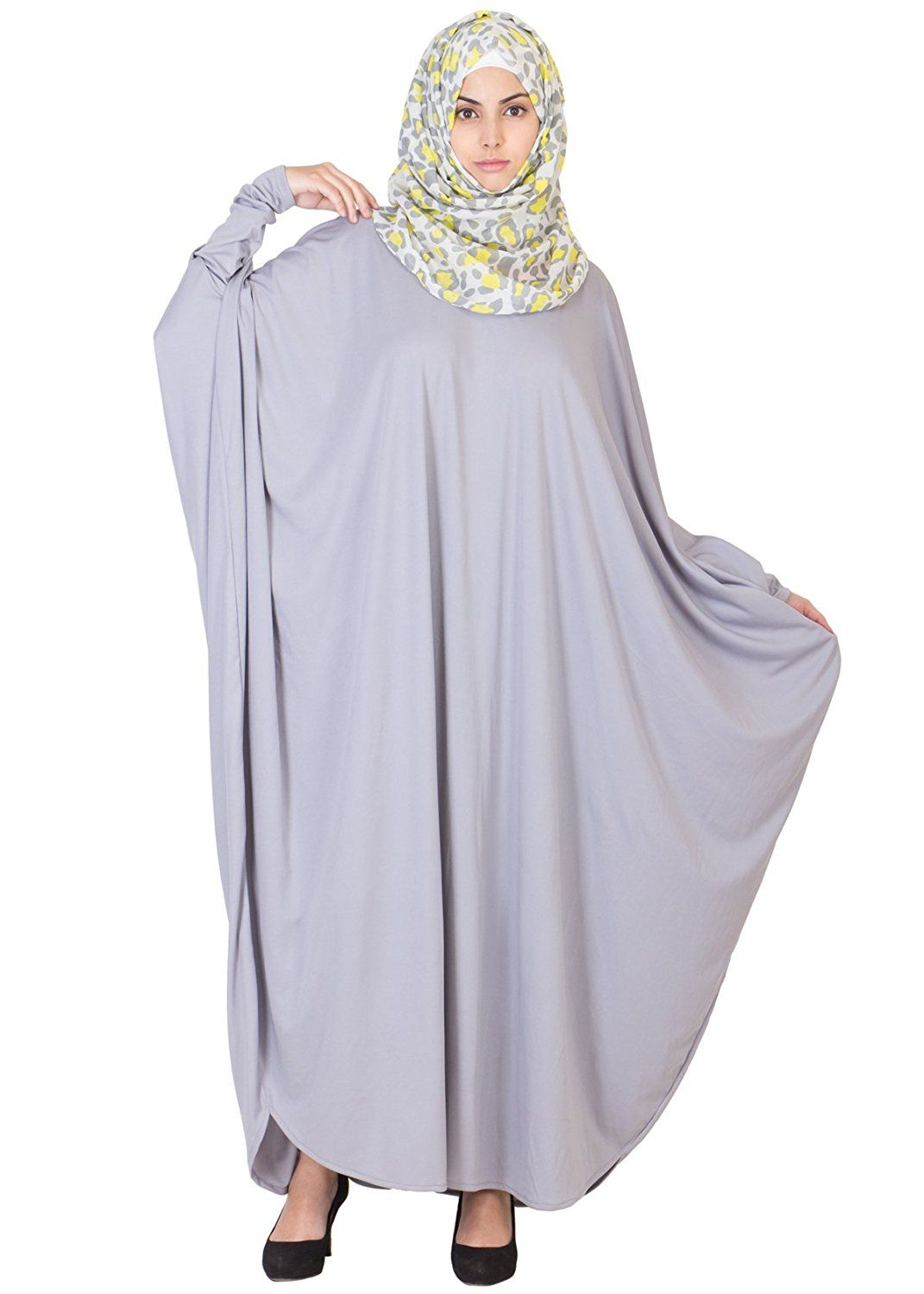 Get your hands on this stylish, classy and simple lycra  abaya  burka for  women by  HayaCollection that feature exquisite and vibrant pattern and  designs! 42e0fd97aea