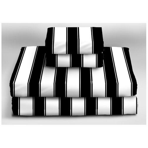 Black And White Striped Sheets Striped Sheets White Sheet Set Striped Bedding