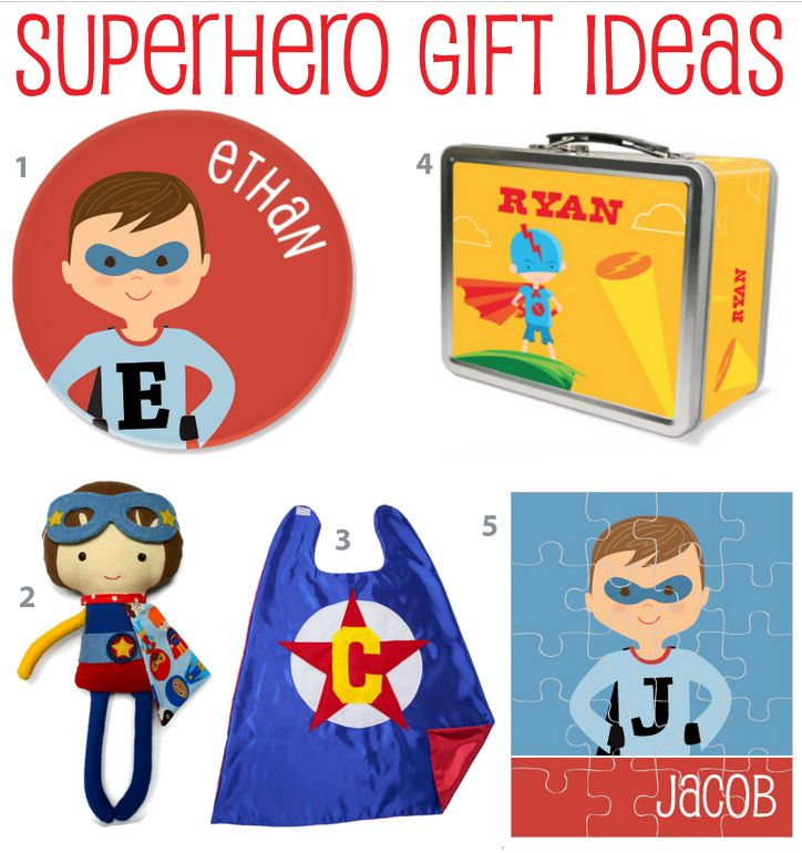 Heres A Roundup Of My Favorite Super Hero Gift Ideas If Youre Invited