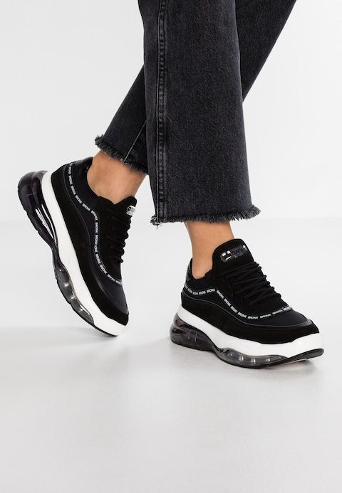 Bronx BUBBLY - Sneakers laag - black