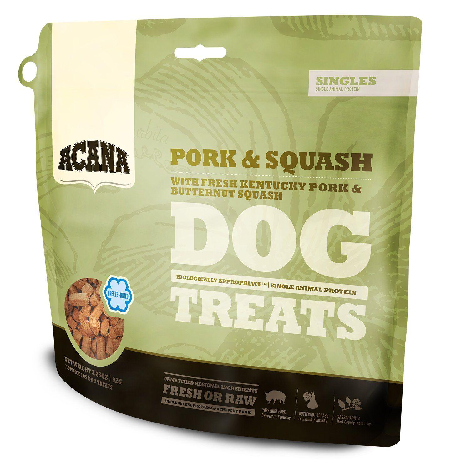 Orijen Acana Pork and Squash FreezeDried Dog Treats 3.25