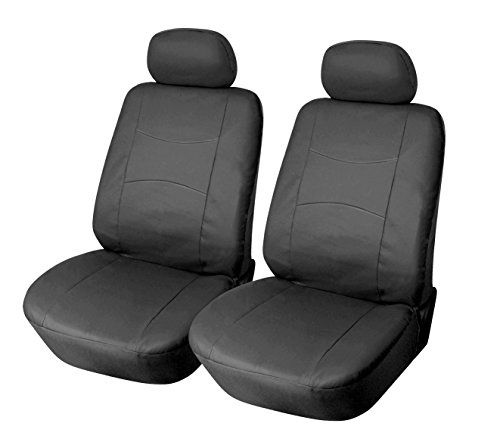 115901 Blackleather Like 2 Front Car Seat Covers Compatible To Nissan Murano Pathfinder Rogue Xterra 201 Leather Car Seat Covers Car Seats Best Car Seat Covers