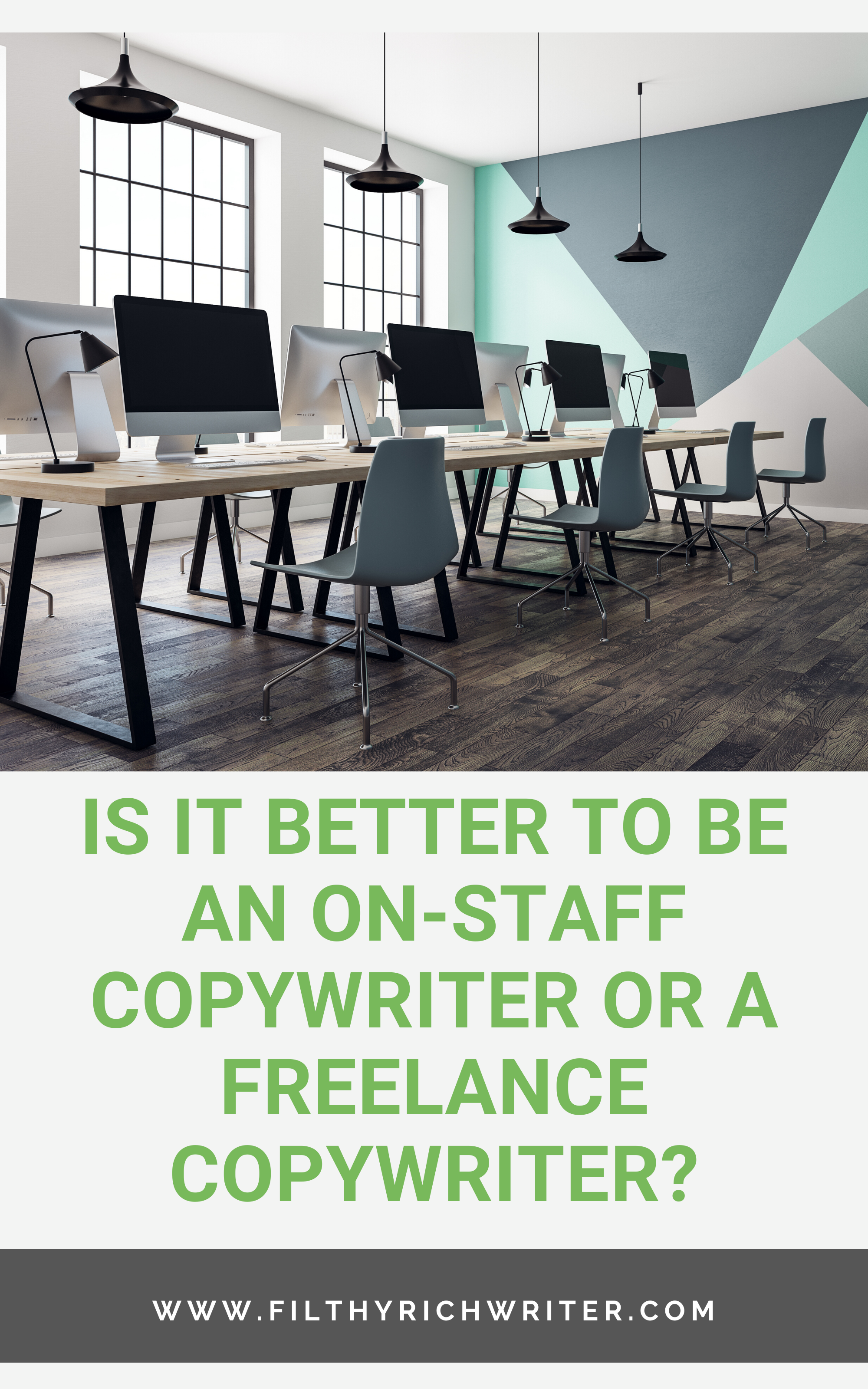 Is It Better To Be An On Staff Copywriter Or A Freelance Copywriter Copywriting Copywriting Business Creative Writing Jobs
