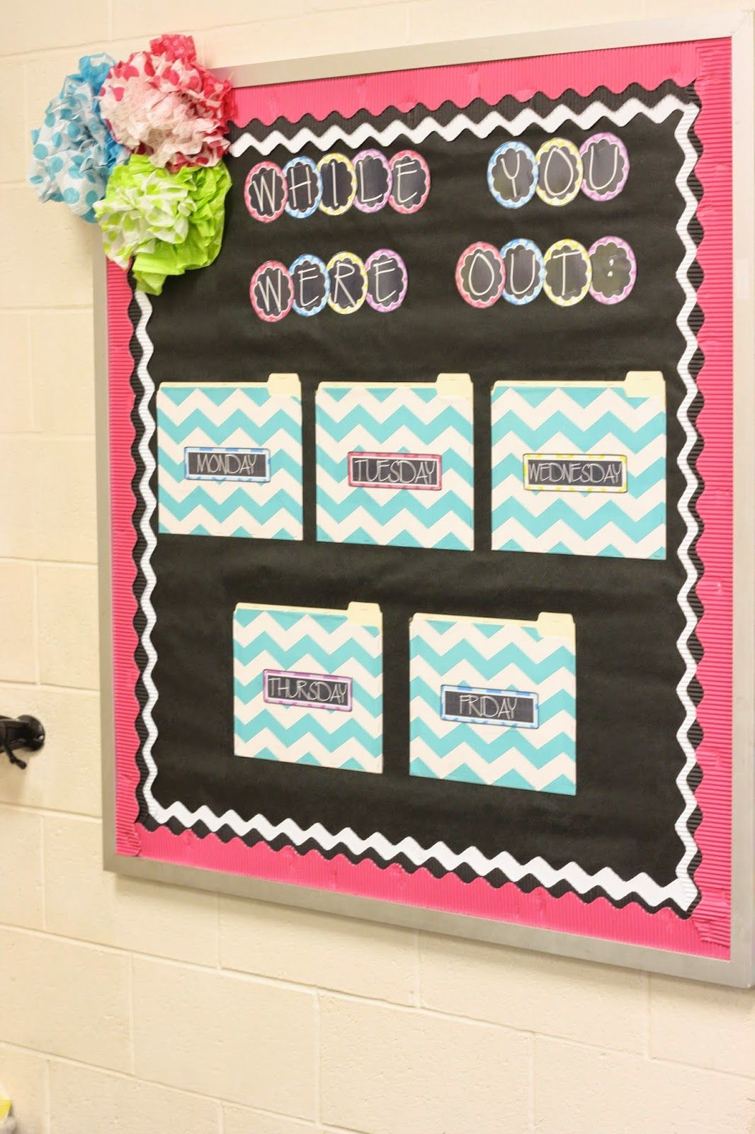 Creating A While You Were Out Bulletin Board