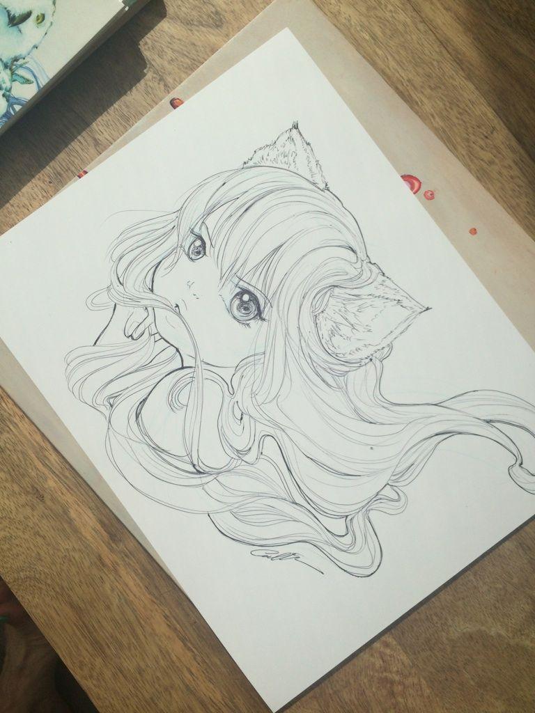 Camilla d'Errico Sketch Commission