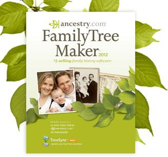 idea for Father's Day: Family Tree Maker 2012