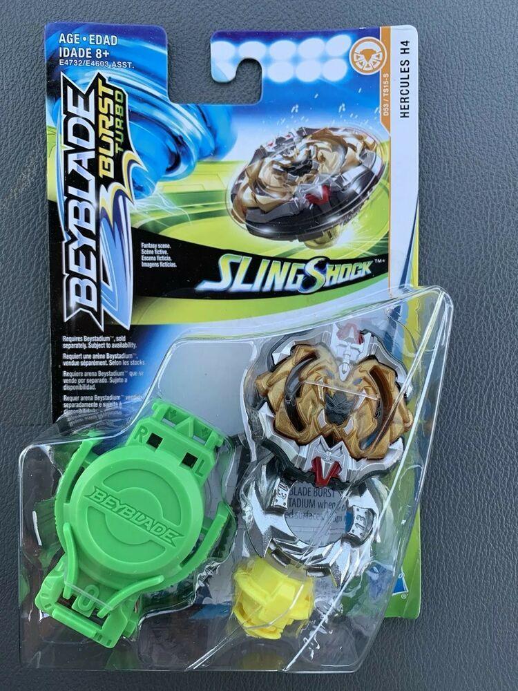 Beyblade Burst Turbo Hercules H4 SlingShock Starter Pack