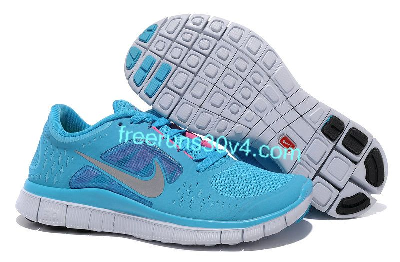 official photos f6d55 0887c Womens Nike N7 Free Run 3 Dark Turquoise Reflective Silver White Pink Flash  Shoes