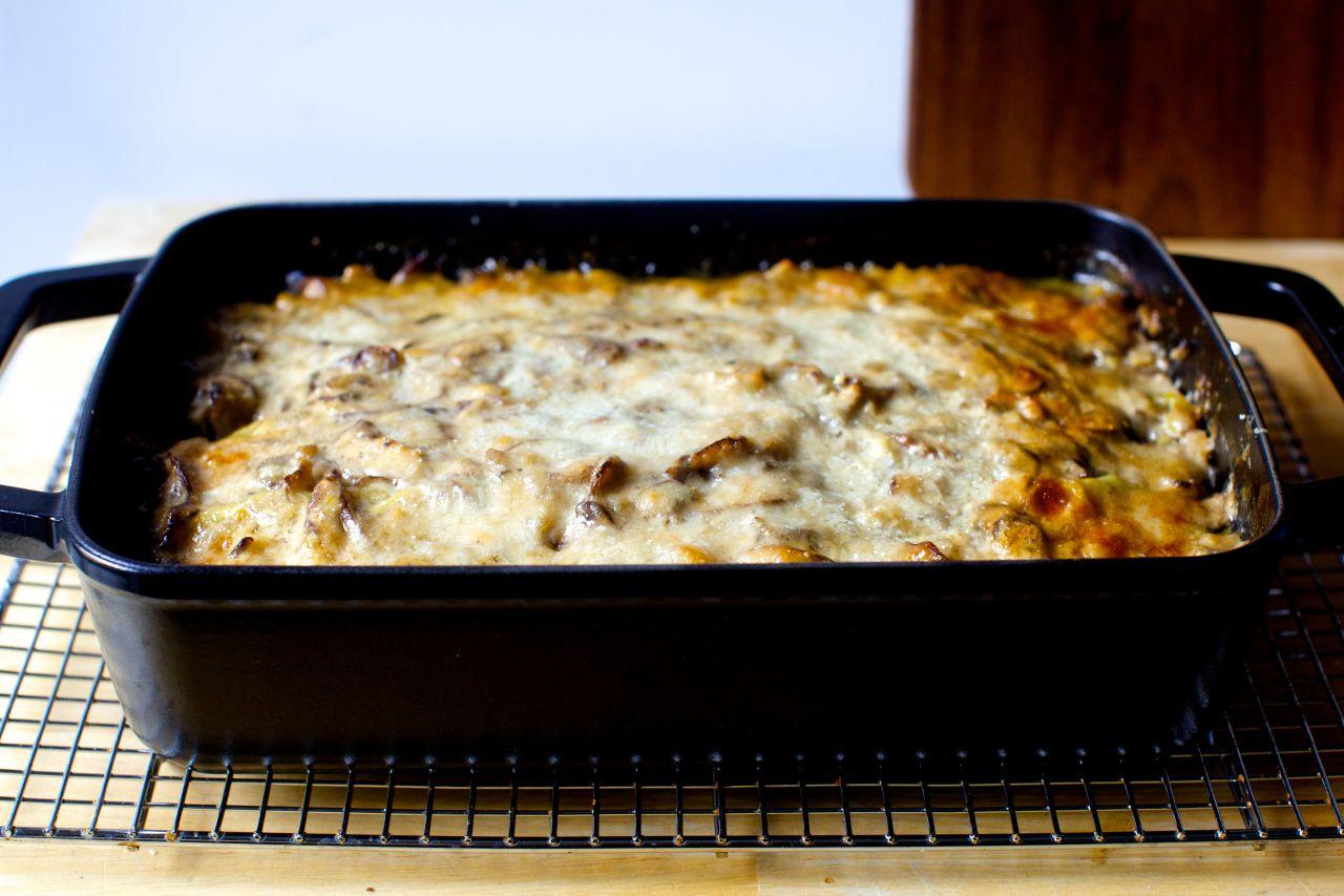 Cabbage and mushroom lasagna recipe smitten kitchen