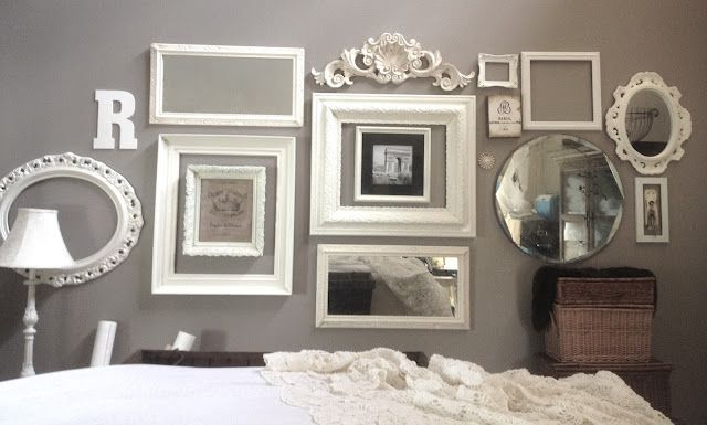 Collection Of Old Frames Frames On Wall Home Decor Inspiration Home Decor