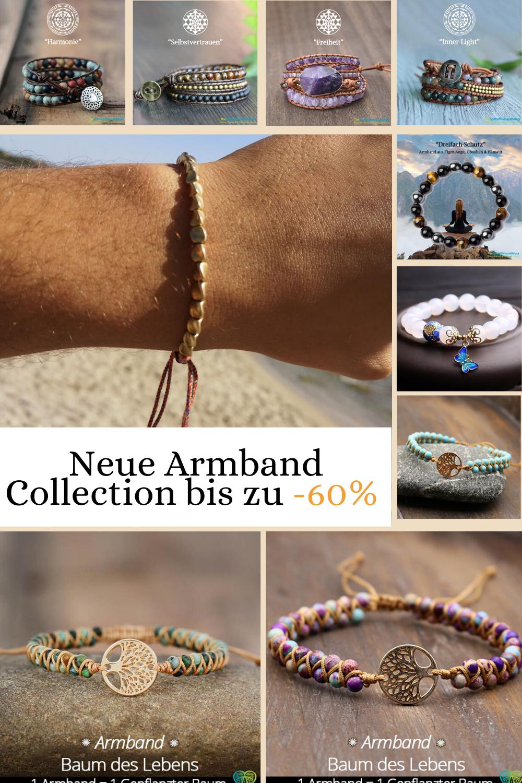 Unsere neue Armbänder Collection jetzt bis -60%