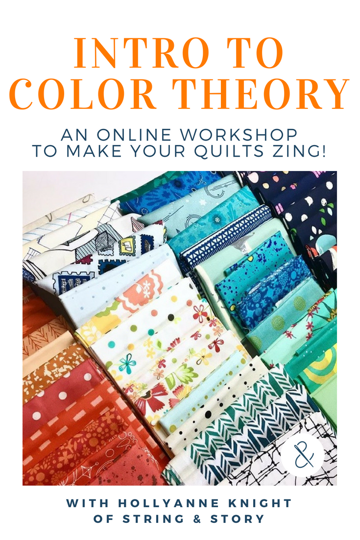 Learn how to choose colors and fabrics to make your quilt ...