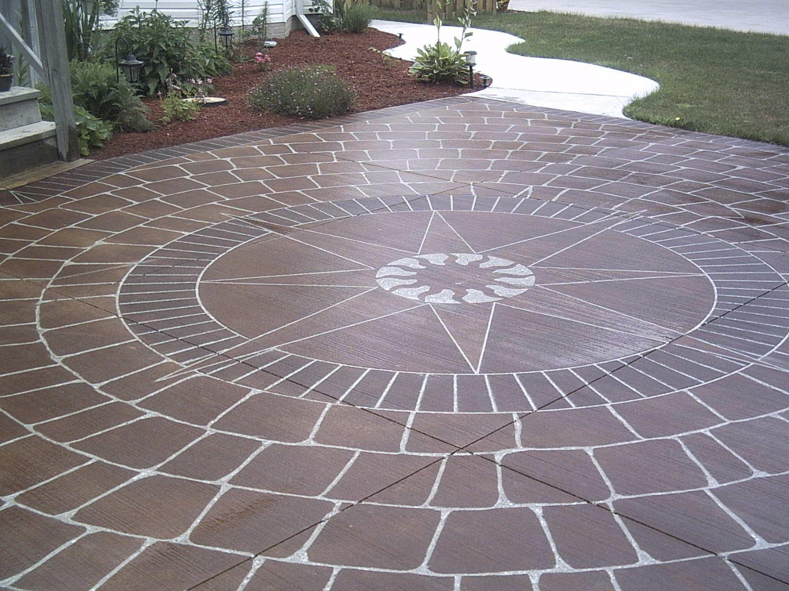 Outdoor Patio Medallion Patio Outdoor Patio Outdoor Decor