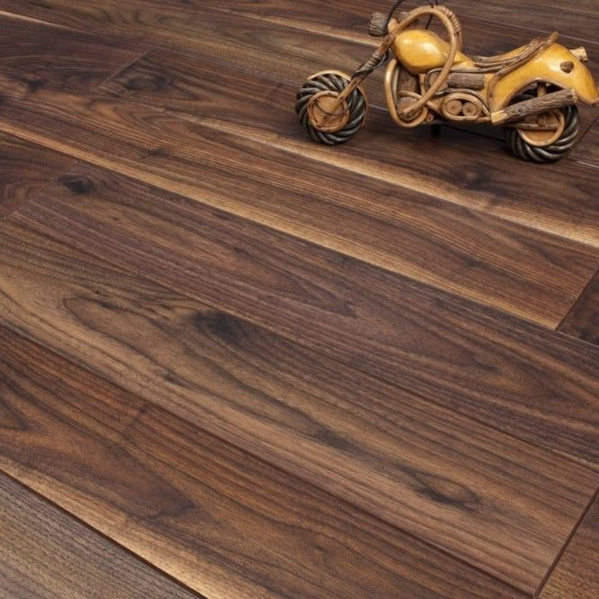 Emperor Walnut 12mm V Groove Ac4 1353m2 Laminate From Discount