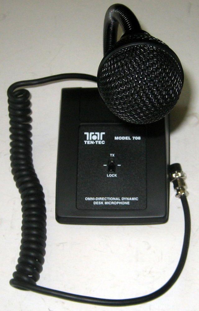 very nice ten tec 708a 8 pin ham radio desk mic radio stuff rh pinterest com Turner Microphone Wiring ten tec 4 pin mic wiring