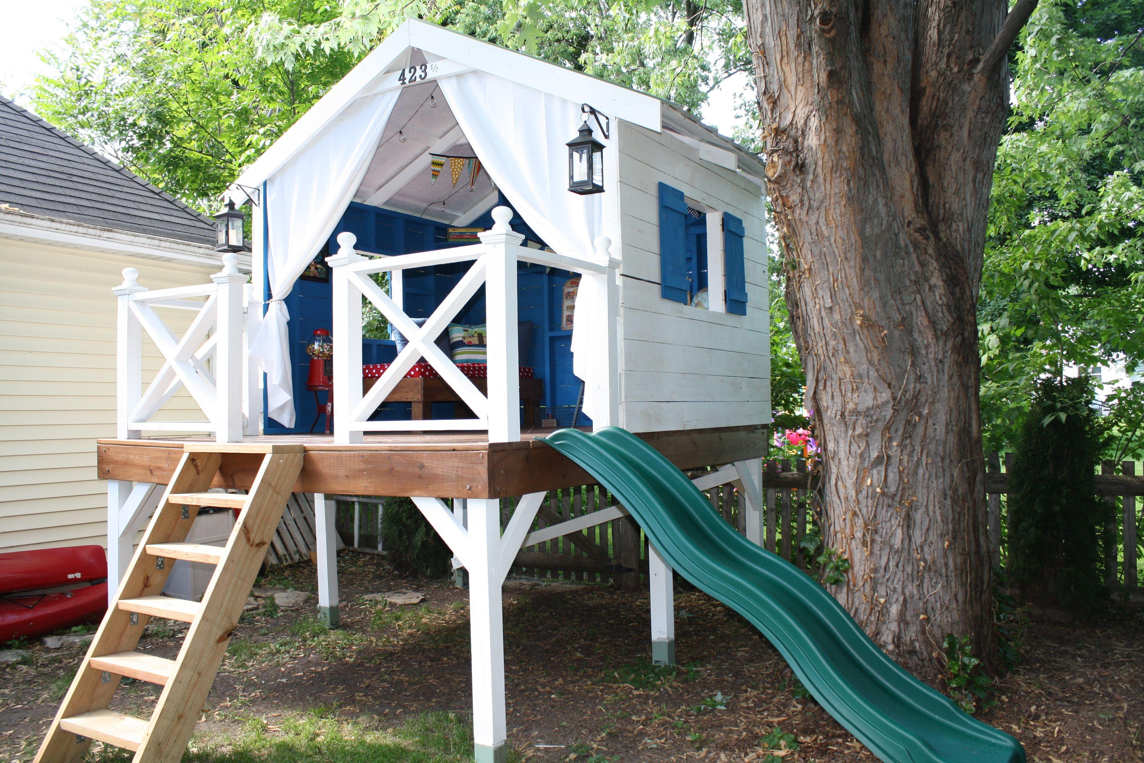 10 Best Diy Tree Houses Ideas Tree House Diy Backyard Treehouse