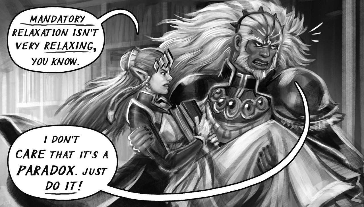 Part 157 Of A Tale Of Two Rulers April 18th Ruler Tales Fan Comic