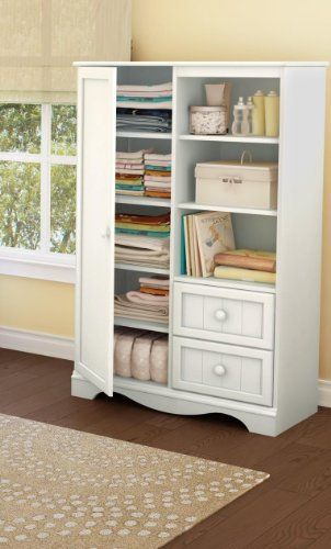 Savannah Door Chest Pure White by South Shore,   www