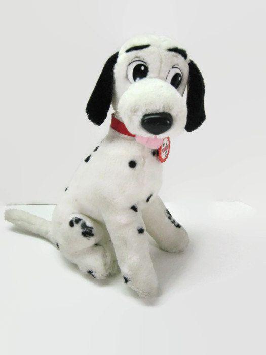 Vintage Disney Pongo 101 Dalmatians Mattel Plush Stuffed Animal 1991 On Etsy 14 00 Plush Stuffed Animals Vintage Disney Disney Plush