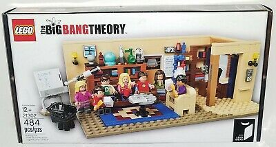 Lego ideas Set 21302 The Big Bang Theory Retired Brand New & Factory Sealed #aff…