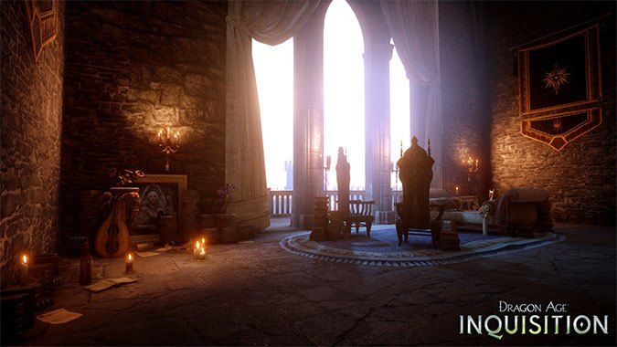 How To Unlock All Dragon Age Inquisition Skyhold Customization Options By Completing All Skyhold Side Quests Dragon Age Dragon Age Inquisition Dragon Age Games