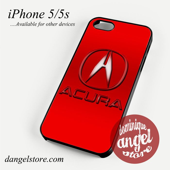 Red Acura Logo Phone Case For IPhone Scs Plus Phone - Acura phone case