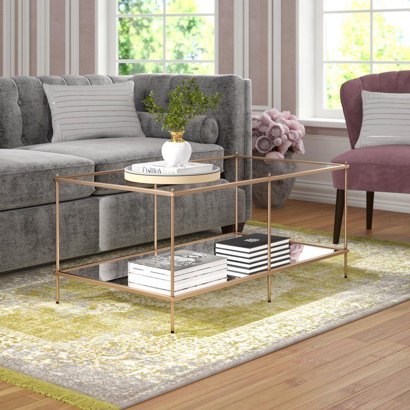 Willa Arlo Interiors Janelle Coffee Table Reviews Wayfair Coffee Table Coffee Table Wood Coffee Table Wayfair
