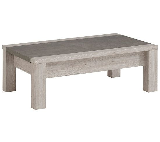 Table Basse L 116 Cm Malone Chene Gris Table Basse Contemporaine Table Basse Table Basse Chene