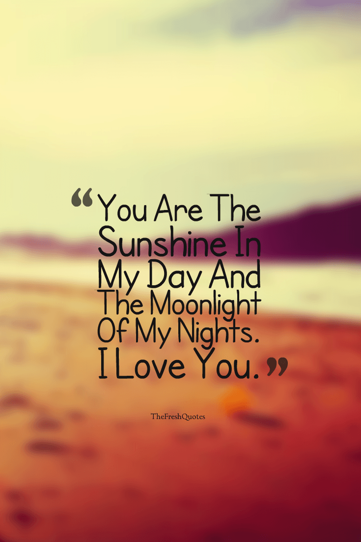 40 Cute & Romantic I Love You Messages & Quotes Love