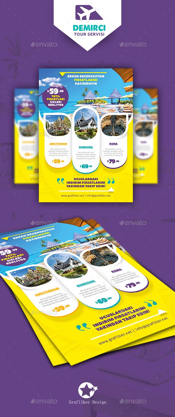 Astonishing Travel Tours Flyer Psd Templates Only Available Here