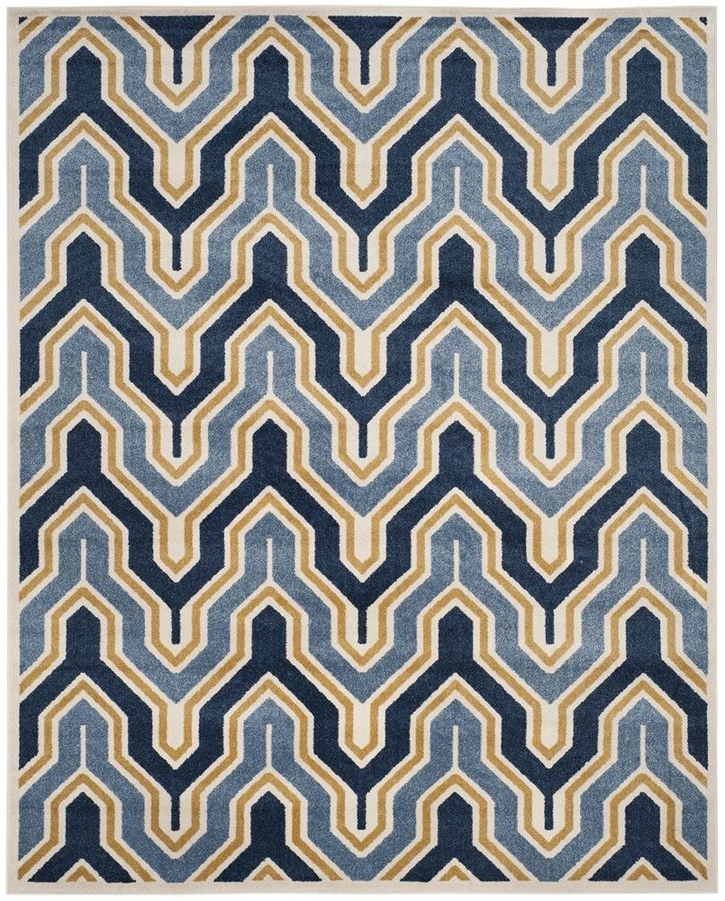Amherst Ivory Gold Indoor Outdoor Area Rug Products