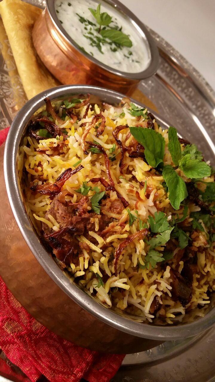 Chicken Biryani for an indian fest! www.tablehalal.com